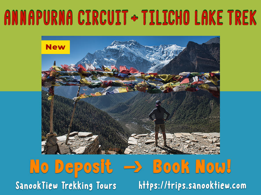 Annapurna Circuit Trek & Tilicho Lake Trek