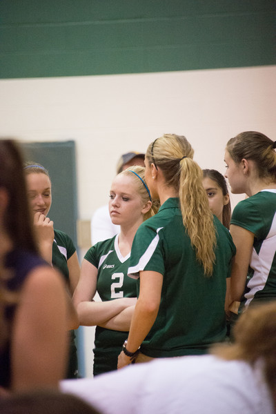 9/25/2012 Game - Musselman Freshman Girls Volleyball