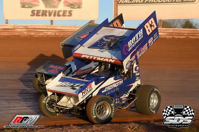 BAPS Motor Speedway - Sprint Showdown - 11/16/19 - Steve Sabo