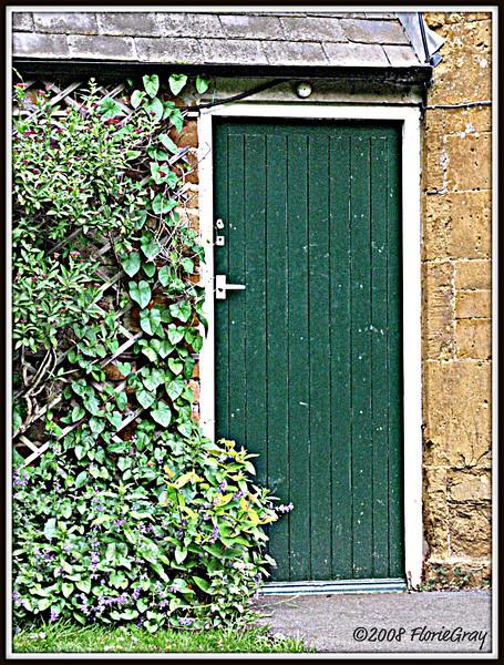 Pub Door;  Wroxton, Oxfordshire  ©2008 FlorieGray