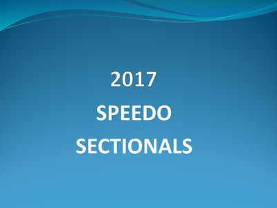 2017 Speedo Sectionals