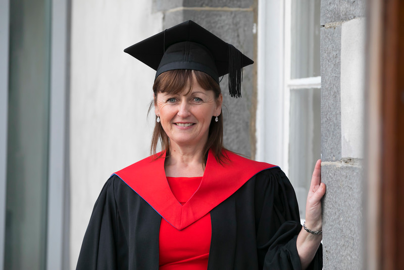 01/11/2017. Waterford Institute of Technology Conferring. Pictured is Margaret English Waterford. Picture: Patrick Browne