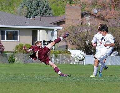 JHS Soph/Fresh Soccer vs Corner Canyon 2016