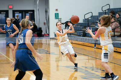 Girls Basketball Action