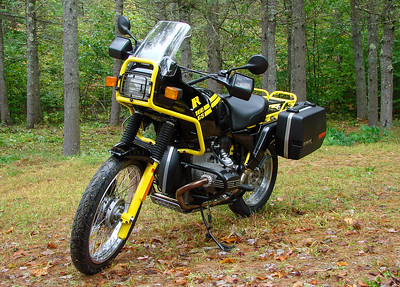 BMW R100GS on Iconic Motorbike Auctions