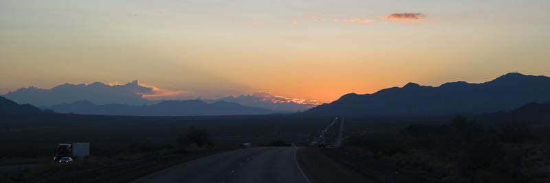 Desert Center, CA Sunrise