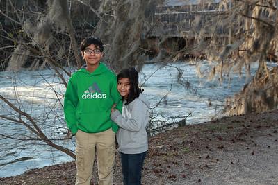 Sagar & Diya at the River