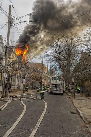 2 Alarm Dwelling Fire - 27 Elizabeth St, New Haven, CT - 1/7/19
