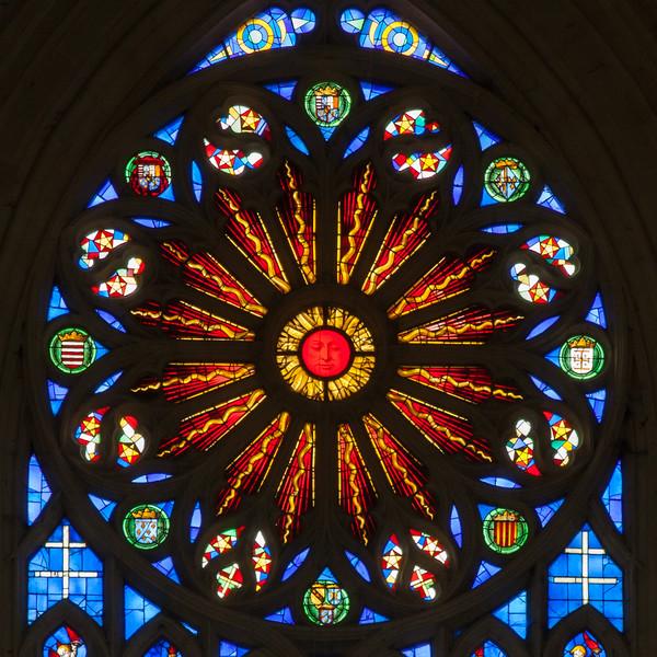 Basilica Saint-Nicholas-de Port Rose Window