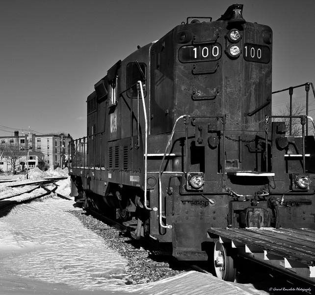 Spare Parts GP7 Locomotive