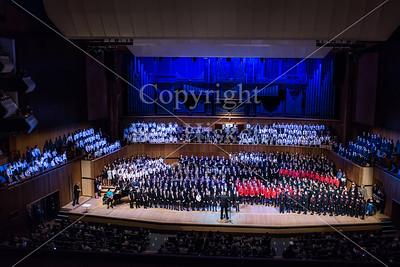Barnardos Choir Competition, March 2018, RFH
