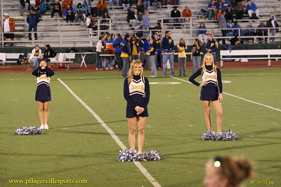 Pflugerville Panthers vs. Stony Point Tigers, October 27, 2007