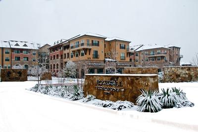 Rockwall, TX Snowfall.  2010