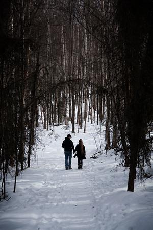Walking in the Woods