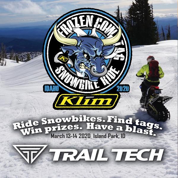 Trail Tech Event - Frozen Cow Tag