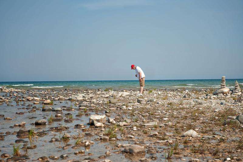 044 Michigan August 2013 - Grand Traverse Lighthouse Shore (Dan).jpg