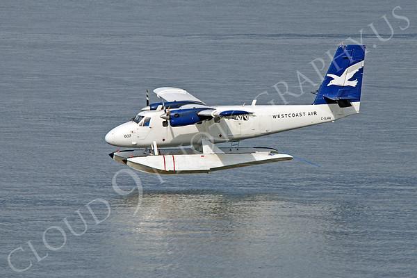 de Havilland Canada DHC-6 Series 200 Civilian Float Plane Pictures