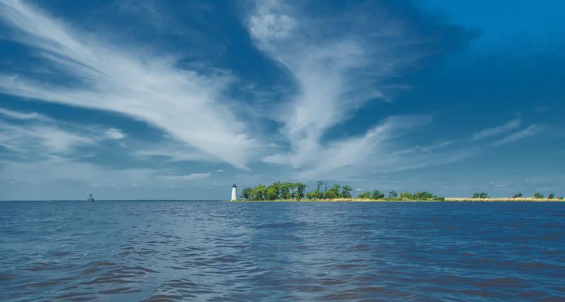 Blue Sky Lighthouse