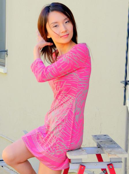 beautiful woman model red dress 142.45.4.5