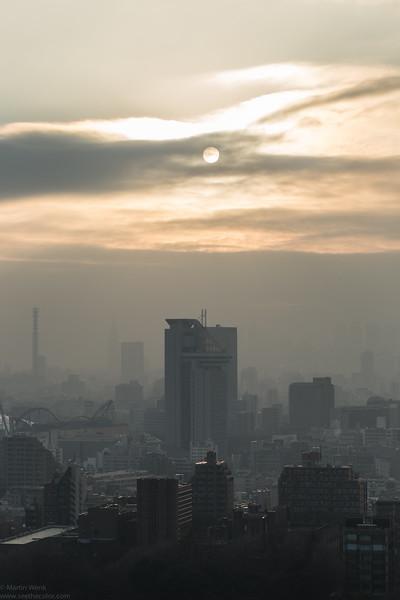 Spot on the sun 2012-02-02