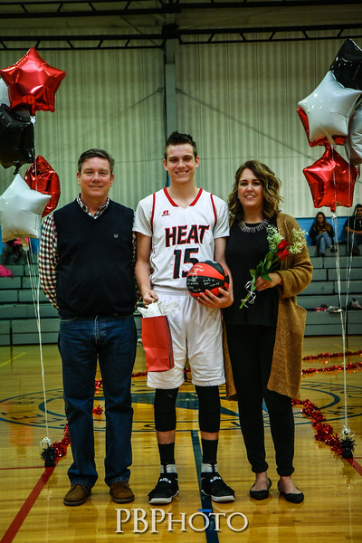 Brevard Heat Senior Night 2017