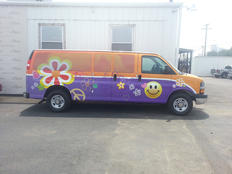 Custom Van Wrap, Dallas, TX