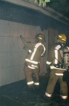 SMFR House Fire 11-16-00