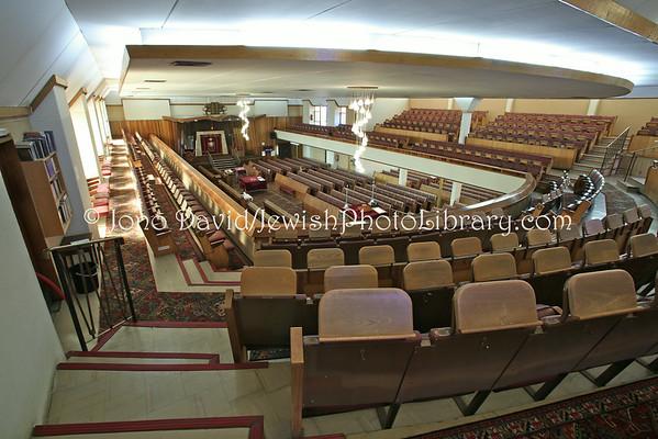 SOUTH AFRICA, Gauteng, Johannesburg, Cyrildene. Cryildene-Observatory Extension Hebrew Congregation (8.2012)