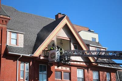Structure fire - 850 Park Ave. Bridgeport, CT - 3/3/2021