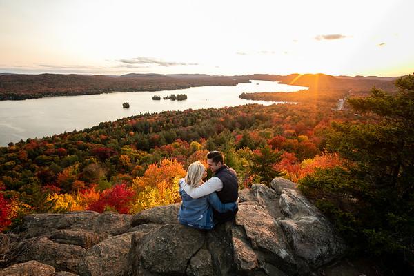 Heather + Ryan - Adirondacks