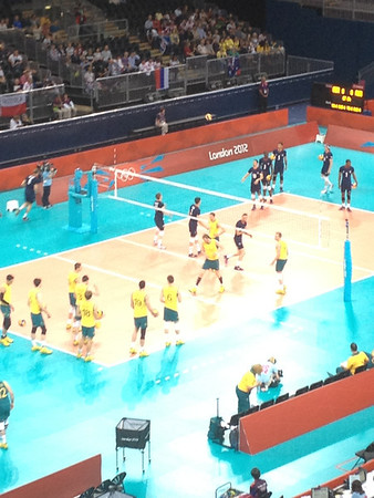 20120731 Olympic Volleyball