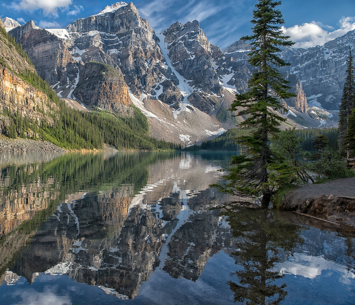 Lake Moraine Mirror