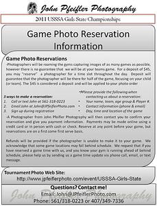 Girls State Photo Information