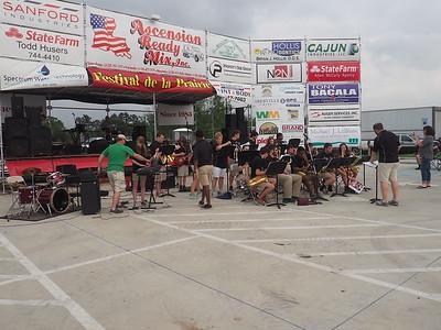 Dutchtown Sound Jazz Band at Festival de la Prairie 4-28-2017