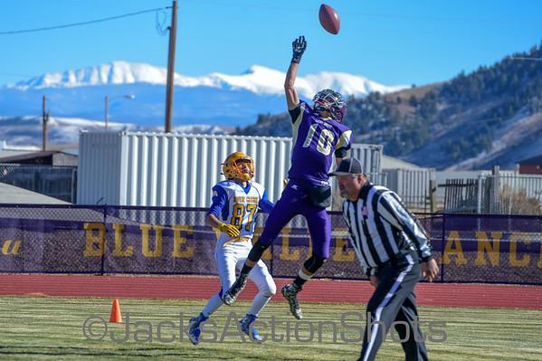 Playoff Game - 8 Man Football - Dove Creek 48 West Grand 6 - Nov 7 2015