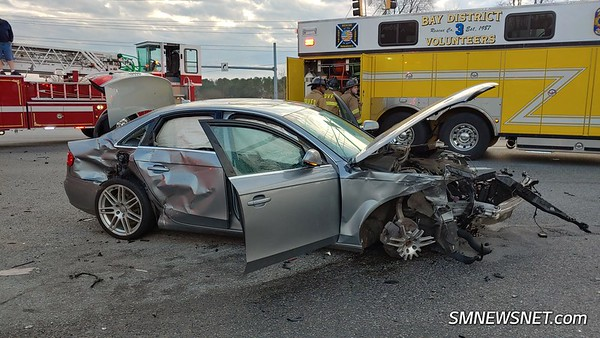12/30/18 Shady Mile Drive Motor Vehicle Accident with Four Trapped