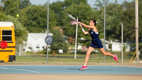 JCHS Women's Tennis 2015