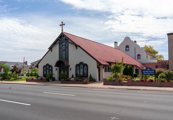 Beach Catholic Churches hi-res Exteriors