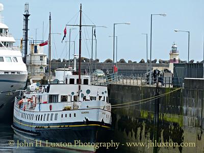 MV Balmoral at Douglas - June 27, 2015
