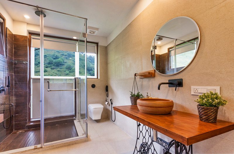 Bathroom for bedroom 1