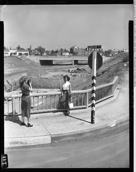 Hollywood Freeway Construct at Fountain