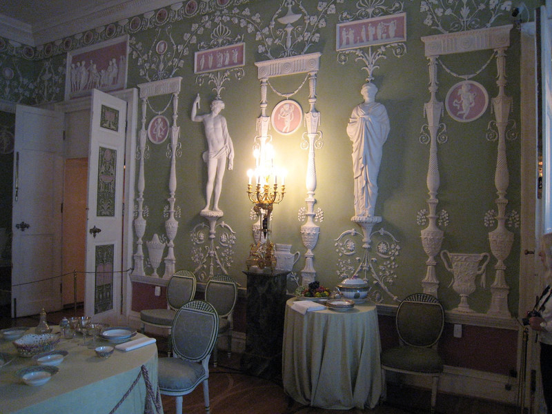 Catherine's Palace at Pushkin (port of St. Petersburg)