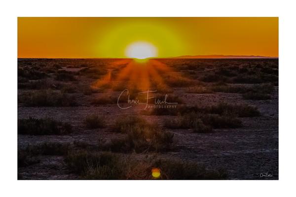 Bonneville Salt Flats Sunrise, UT