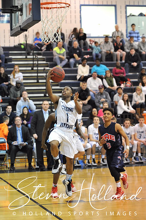 Boys Basketball: Stone Bridge vs Edison - Region Quarterfinals 2.28.2015 (by Steven Holland)