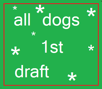 All Dogs (1st draft)
