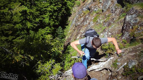 Guye Peak Summer Summit Attempt 2013
