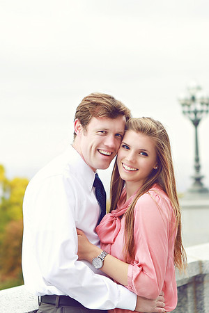 Matt & Elizabeth engagement photos - Oct 2012