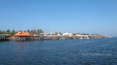 Koh Lanta - Thalane Pier - Koh Yao