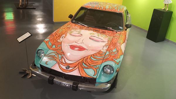 Art Car Museum - Houston - 23 Oct. '14