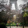 Umbrellas by Eiffel Tower